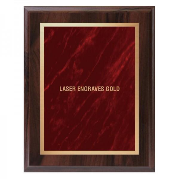 Plaque Merisier - Série Marble Mist PLV465-CW-RED-LASER