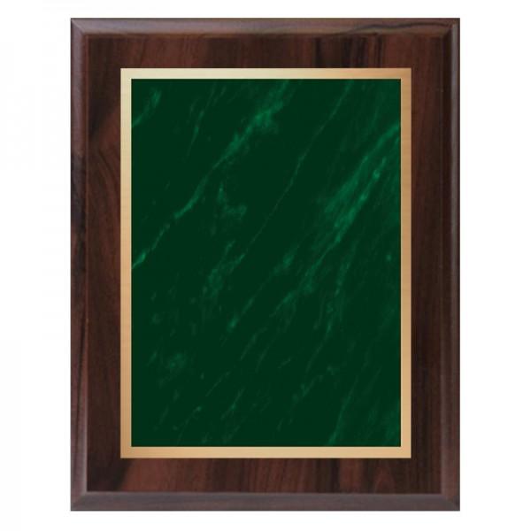Plaque Merisier et verte PLV465-CW-GR-CLEAN