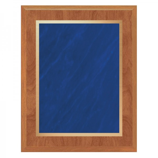 Maple and Blue Plaque PLV465-MAPLE-BL-CLEAN