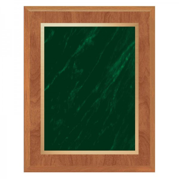 Maple and Green Plaque PLV465-MAPLE-GR-CLEAN