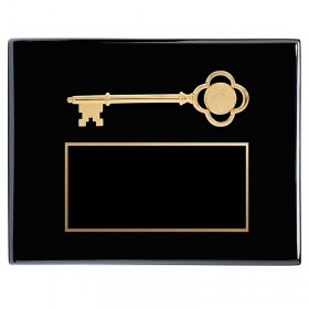 Key to the City Plaque PPFS80D-BK