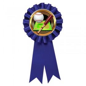 Blue Baseball Rosette RR6-BL-PGS002