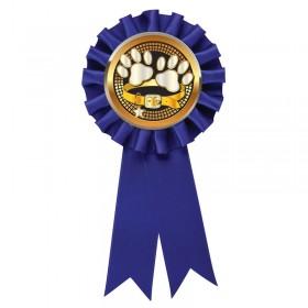 Blue Dog Show Rosette RR6-BL-PGS067