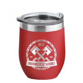 Red 16 oz Insulated Tumbler LG16-RD