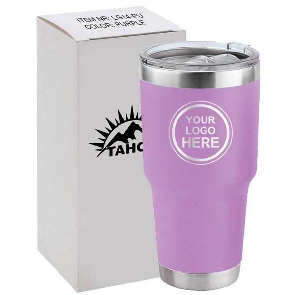 Gobelet Isotherme 30 oz Violet Pâle LG14-LP Emballage