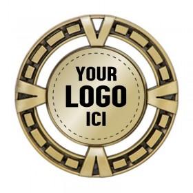 Médaille à Insertion 2 1/2 po MSP400-logo