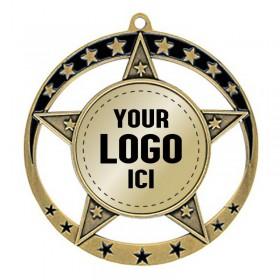 Médaille Insertion 2 3/4 po MSE630-logo