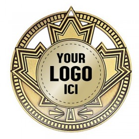 Médaille à Insertion 2 3/4 po MSN500-LOGO