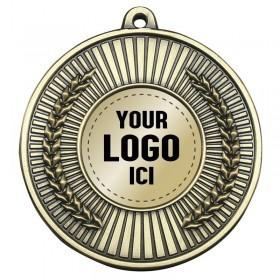 Médaille Insertion 2 po MMI363-LOGO