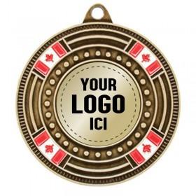 Médaille à Insertion 2 po MMI5050-LOGO