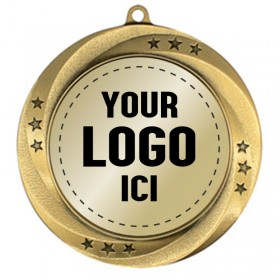 Médaille Insertion 2 3/4 po MMI549-LOGO