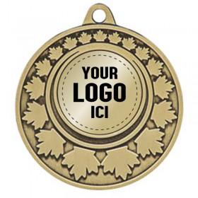 Médaille Insertion 2 po MMI379-LOGO