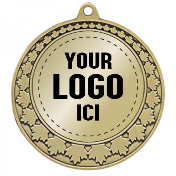 Médaille Insertion 2 3/4 po MMI 579-LOGO