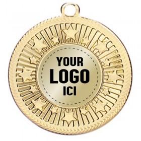 Médaille Insertion 2 po MMI275-LOGO