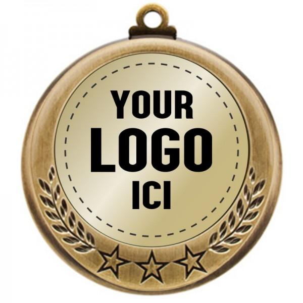 Médaille Insertion 2 3/4 MMI 4770-LOGO