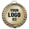 Custom Medal 4 inches MD34-LOGO