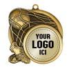 Soccer Medal 2 1/2 in MSI-2513-LOGO
