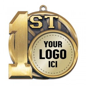 Position Medal 2 1/2 po MSI-2591-LOGO