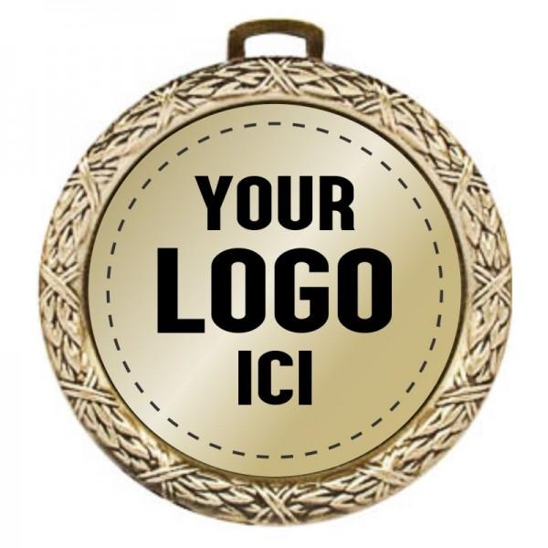 Médaille Insertion 2 1/2 po MMI2170-LOGO