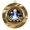 Gold Chess Medal 2 3/4 in MMI503-PGS011