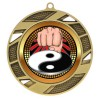 Gold Martial Arts Medal 2 3/4 in MMI503-PGS051
