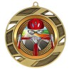 Gold Road Cycling Medal 2 3/4 in MMI503-PGS062