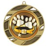 Gold Dog Show Medal 2 3/4 in MMI503-PGS067