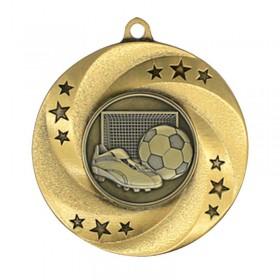 Gold Soccer Medal 2 in MMI34813