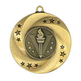Gold Victory Medal 2 in MMI34801