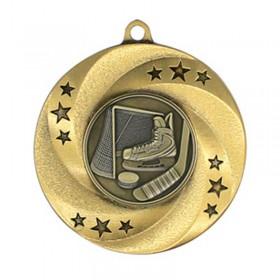 Gold Hockey Medal 2 in MMI34810