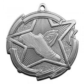 Médaille Argent Course à Pied 2 3/8 po MD1716AS
