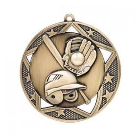 Médaille Baseball 2 3/4 po MSS602G