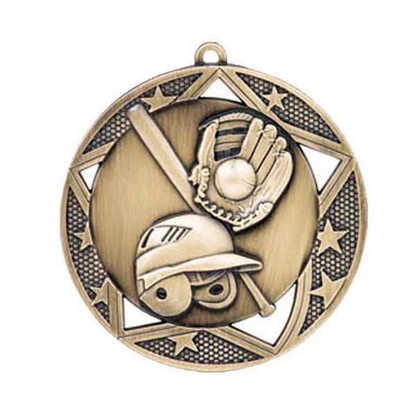 Baseball Medal 2 3/4 in MSS602G