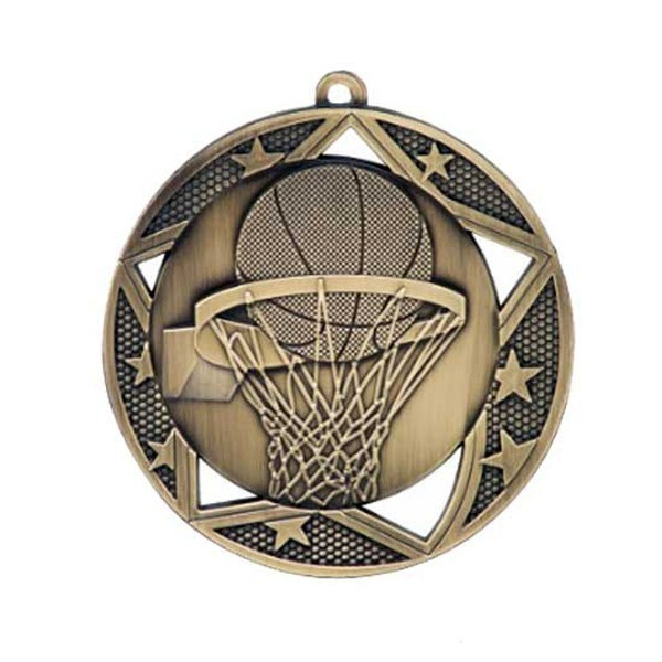 Médaille Basketball 2 3/4 po MSS603G