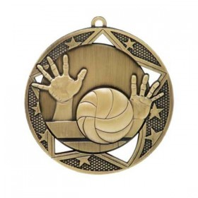 Médaille Volleyball 2 3/4 po MSS617G