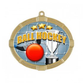 Dek Hockey gold Medal 3 3/8 in MMI6200-PDE-3221