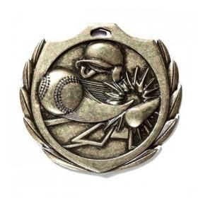 Médaille Baseball 2 1/4 po BMD02AG