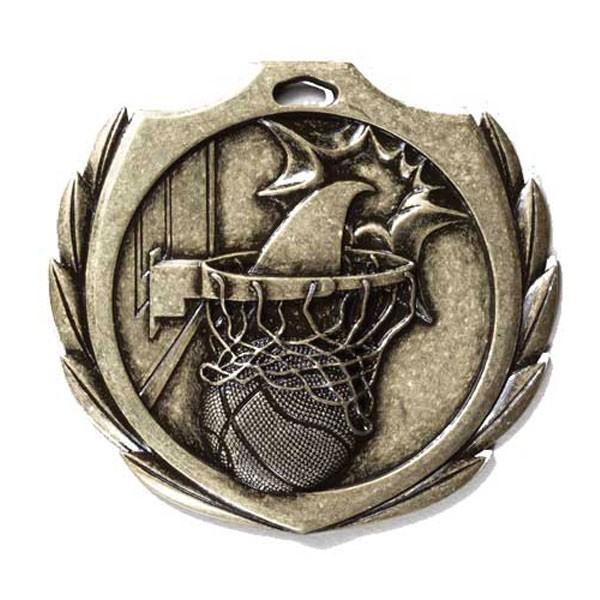 Médaille Basketball 2 1/4 po BMD03AG