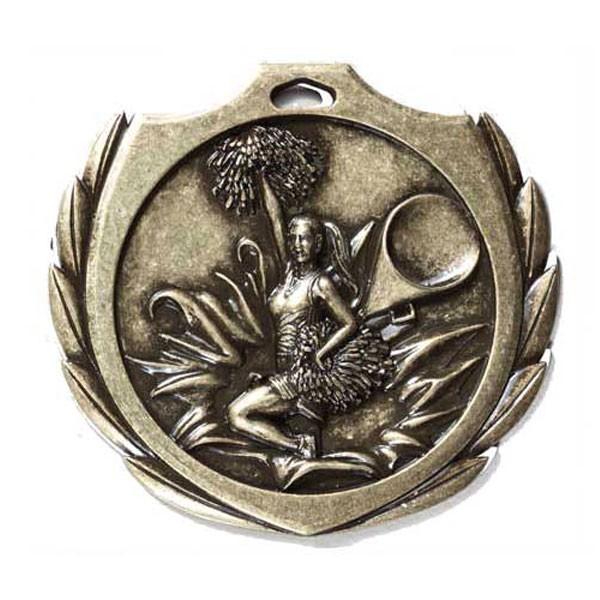 Médaille Or Cheerleading 2 1/4 po BMD05AG