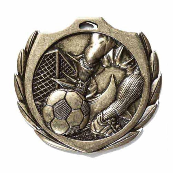 Soccer Medal 2 1/4 in BMD013AG