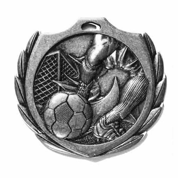 Soccer Medal 2 1/4 in BMD013AS