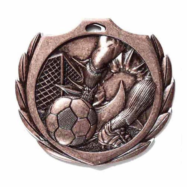 Soccer Medal 2 1/4 in BMD013AB