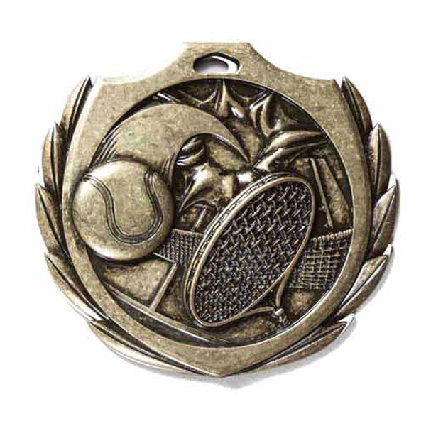 Tennis Medal 2 1/4 in BMD015AG