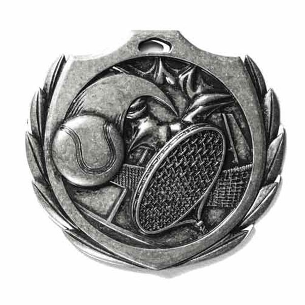 Médaille Tennis 2 1/4 po BMD015AS