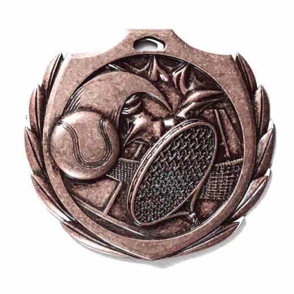 Tennis Medal 2 1/4 in BMD015AB