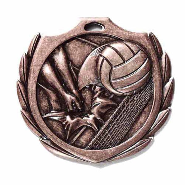 Volleyball Medal 2 1/4 in BMD017AB