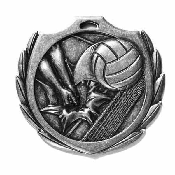 Volleyball Medal 2 1/4 in BMD017AS