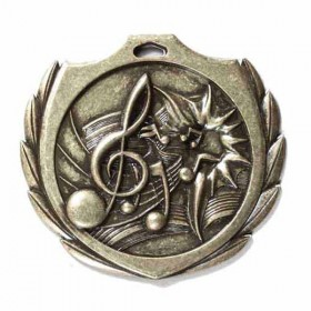 Music Gold Medal 2 1/4 in BMD024AG