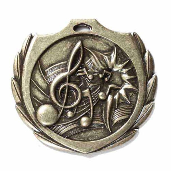 Music Gold Medal 2 1/4 in BMD024AG
