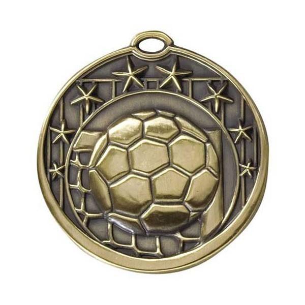 Médaille Or Soccer 2 po M713AG
